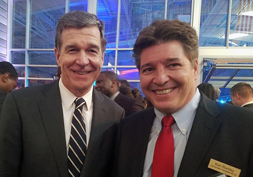 Enjoyed seeing the Governor at the Democratic Unity Dinner last weekend.